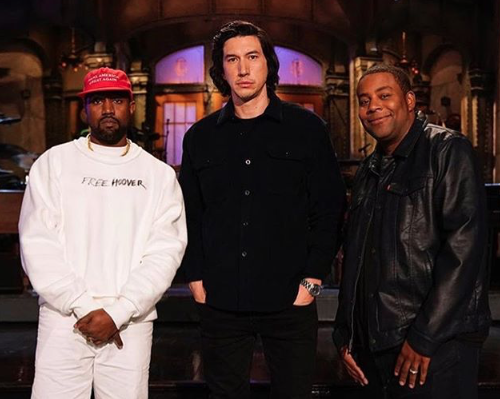 Kanye West Replaced Ariana Grande for 'SNL' Season Premiere