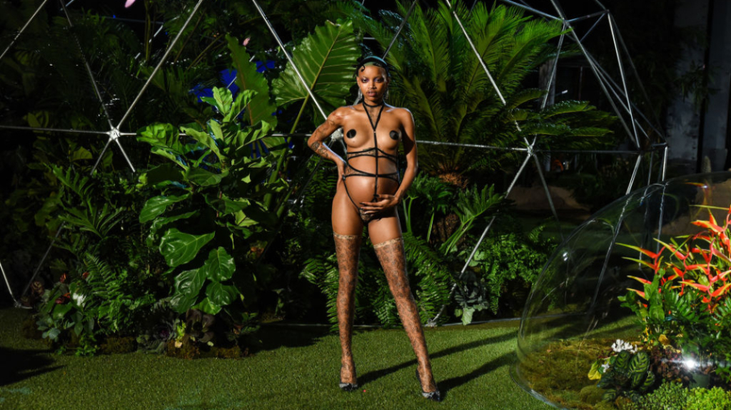 Slick Woods Went Into Labor Following SavagexFenty NYFW Show