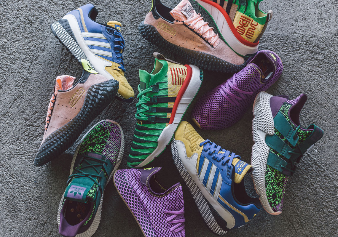 official photos 2de24 b315c Check Out the Full adidas x Dragon Ball Z Collection