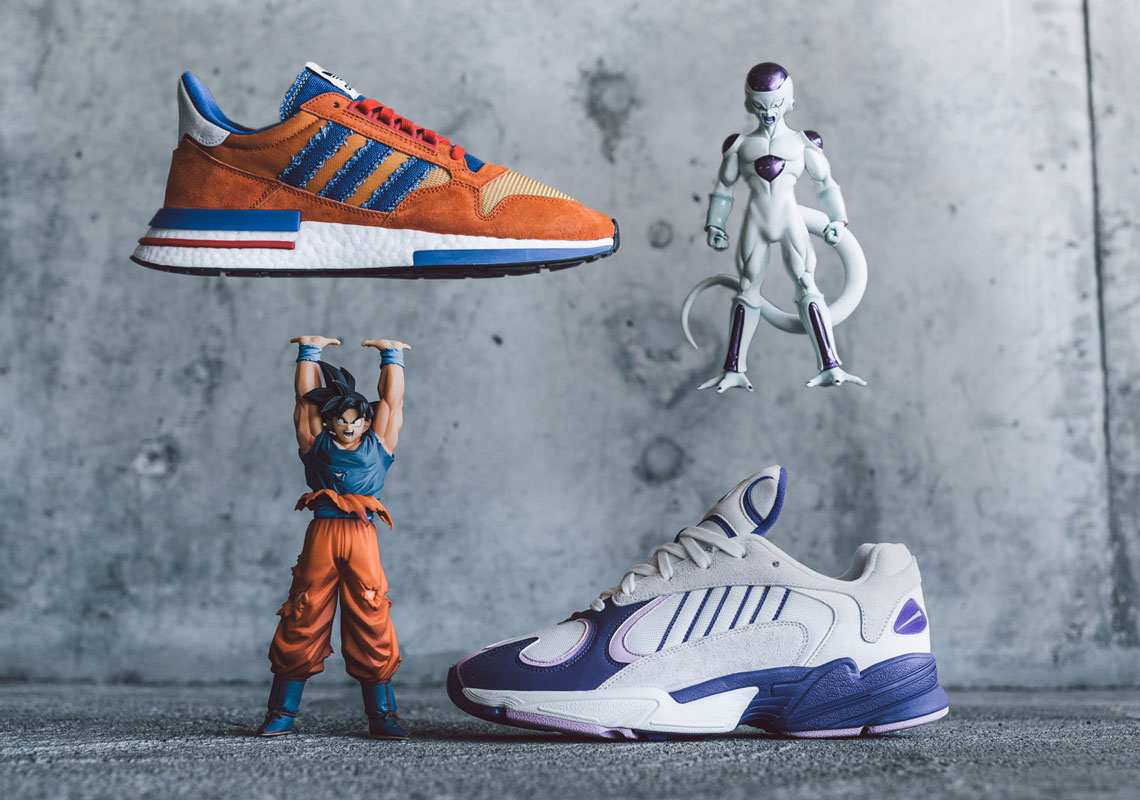 Detailed Look at the Entire 'Dragon Ball Z' adidas Sneaker