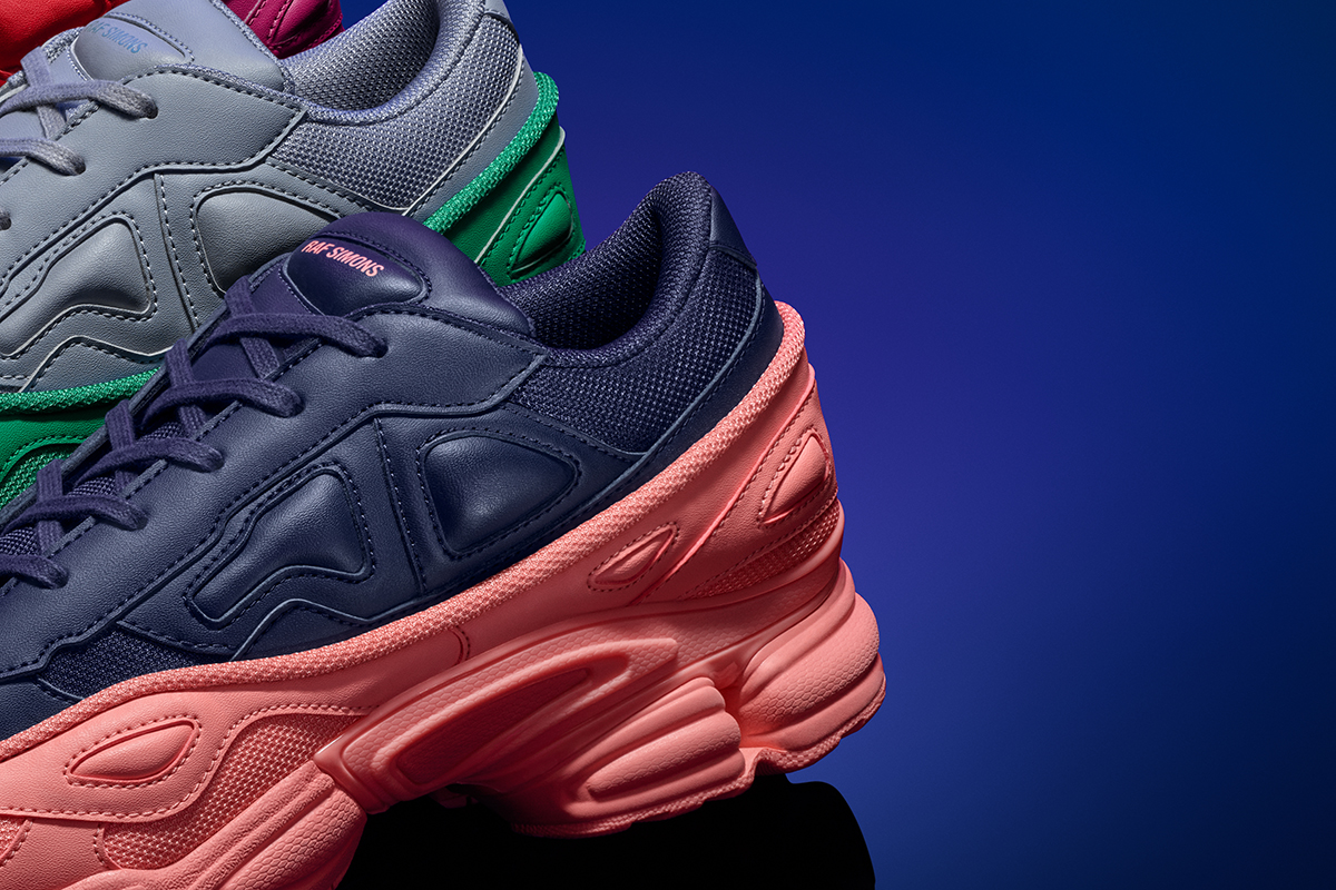 finest selection df11e 8af58 adidas by Raf Simons Fall/Winter 2018 Ozweego & Stan Smith ...