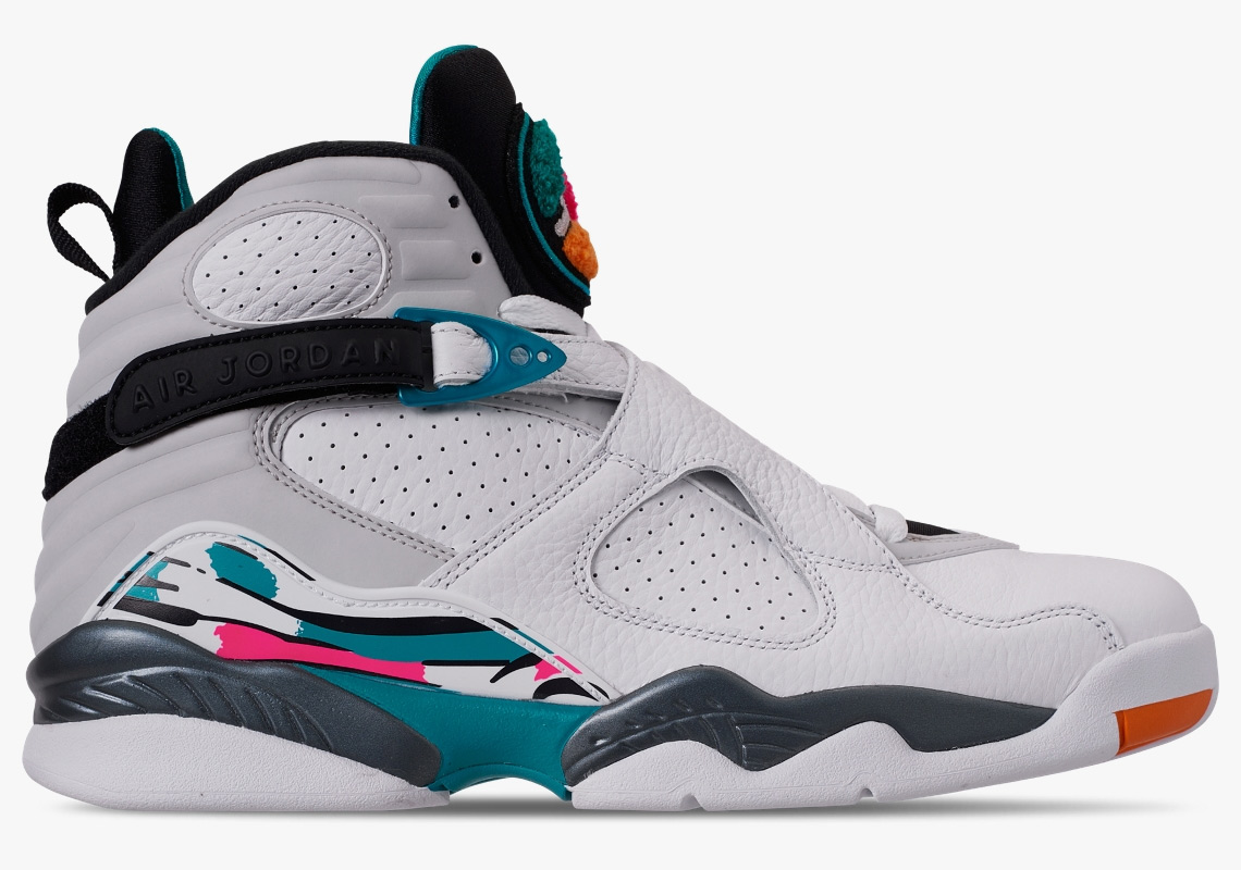 "069b5f6362a5a8 Jordan Brand is Releasing a Collection of ""South Beach"" 8s For the Whole  Family To Enjoy"