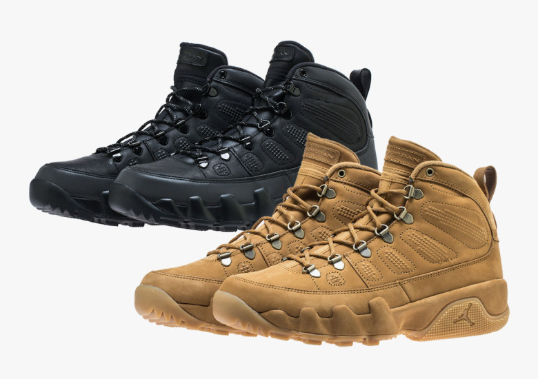 the best attitude edba8 46622 The Air Jordan 9 Boot Returns In Two Colorways For Fall 2018 ...