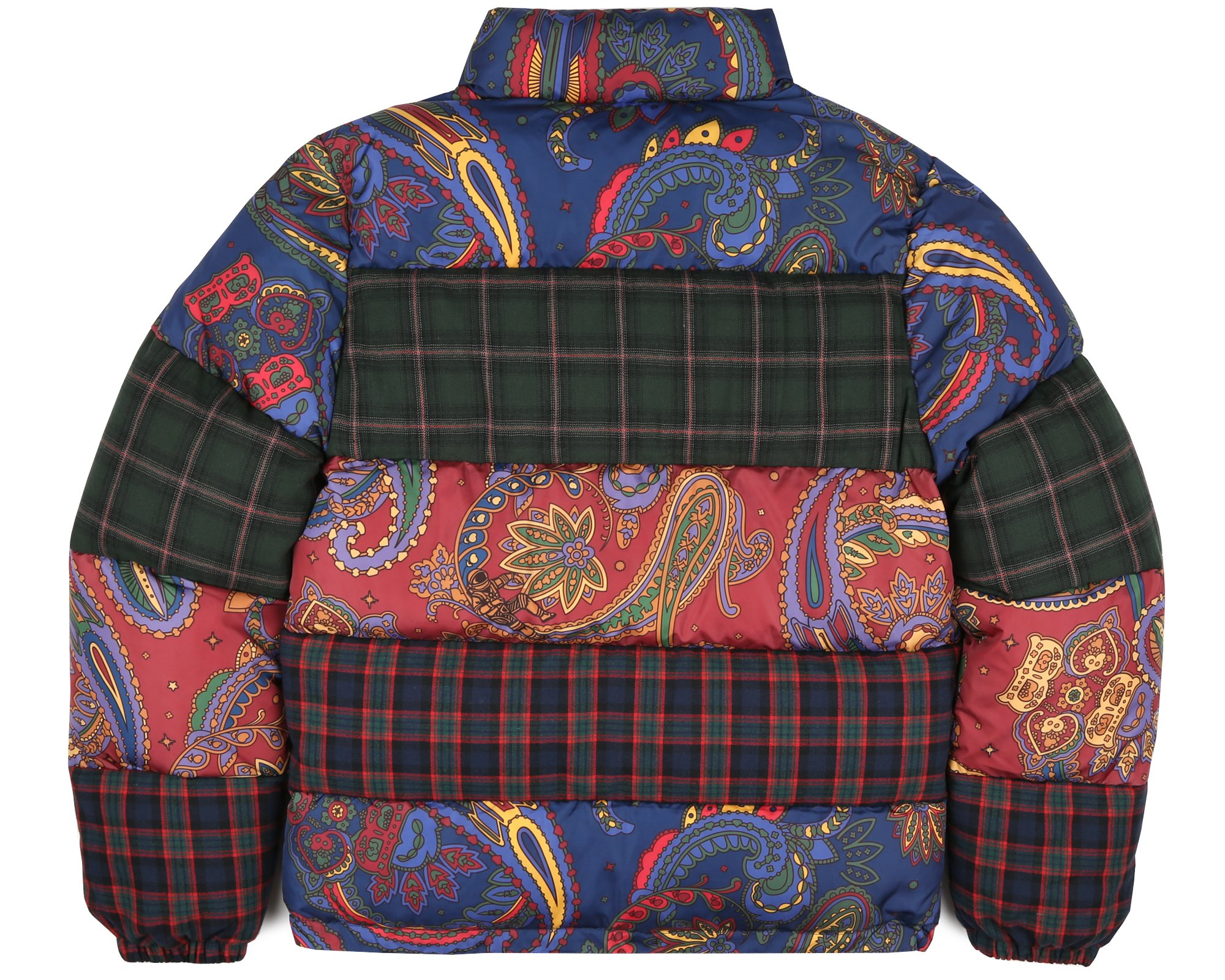 fd3307b07 BBC London Ushers In Layer Season With a FW18 Paisley Check Down Jacket