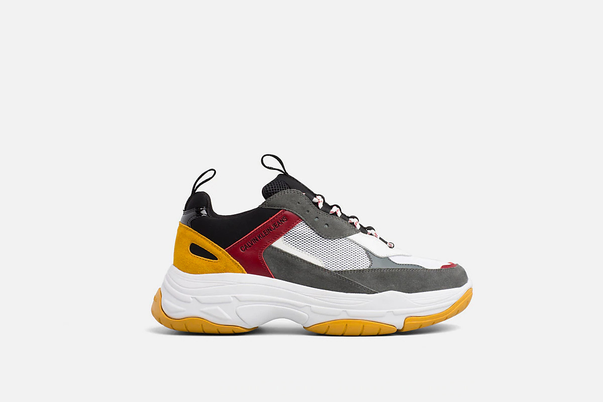 Is Even The Klein Chunky Sneaker Season Source Wave Calvin On This HwZaUx