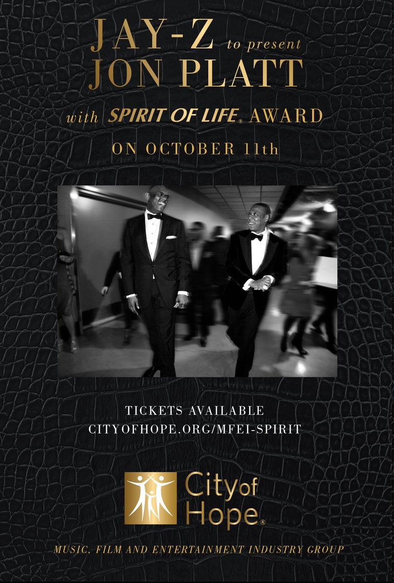 JAY-Z to Present Jon Plat with Spirit of Life Award in October