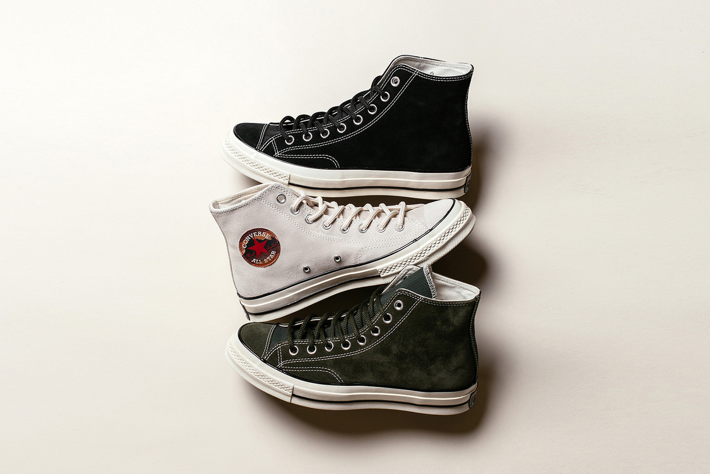 converse chuck taylor all star  hi suede pack