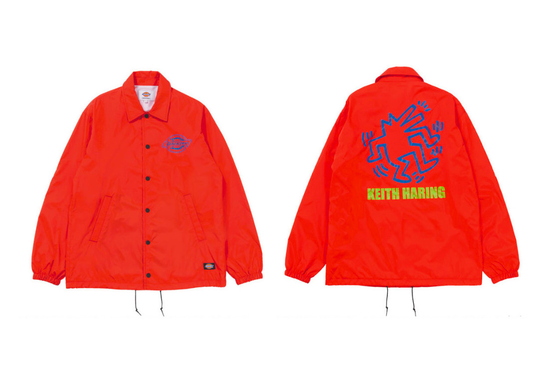 The Second Collection of Dickies x Keith Haring Gear Is Now Available