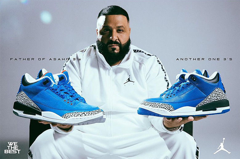 "0920c7cd4a3 DJ Khaled Unveils His Air Jordan 3 ""Another One"" and ""Father Of Asahd""  Colorways"