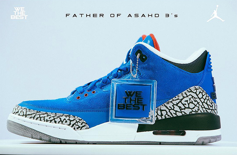 23d6c87efec ... in DJ Khaled s Air Jordan 3 collection are only available at the moment  via giveaway on WeTheBestStore.com. Take a look at the campaign lookbook  below ...