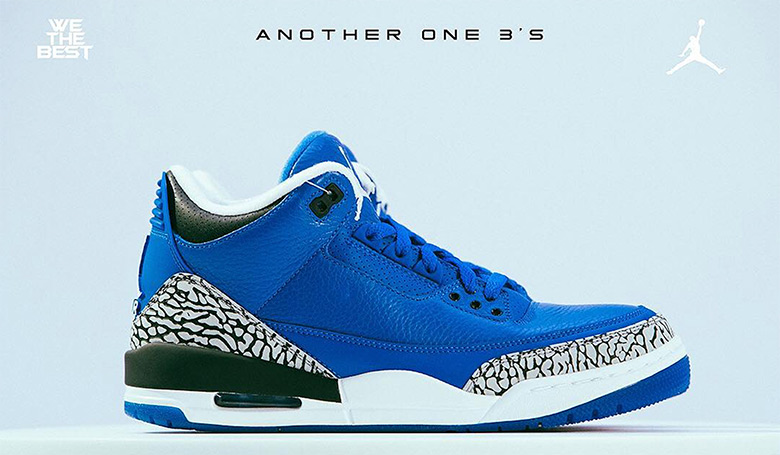 2e705b21a40aca ... Air Jordan 3 collection are only available at the moment via giveaway  on WeTheBestStore.com. Take a look at the campaign lookbook below after you  enter ...