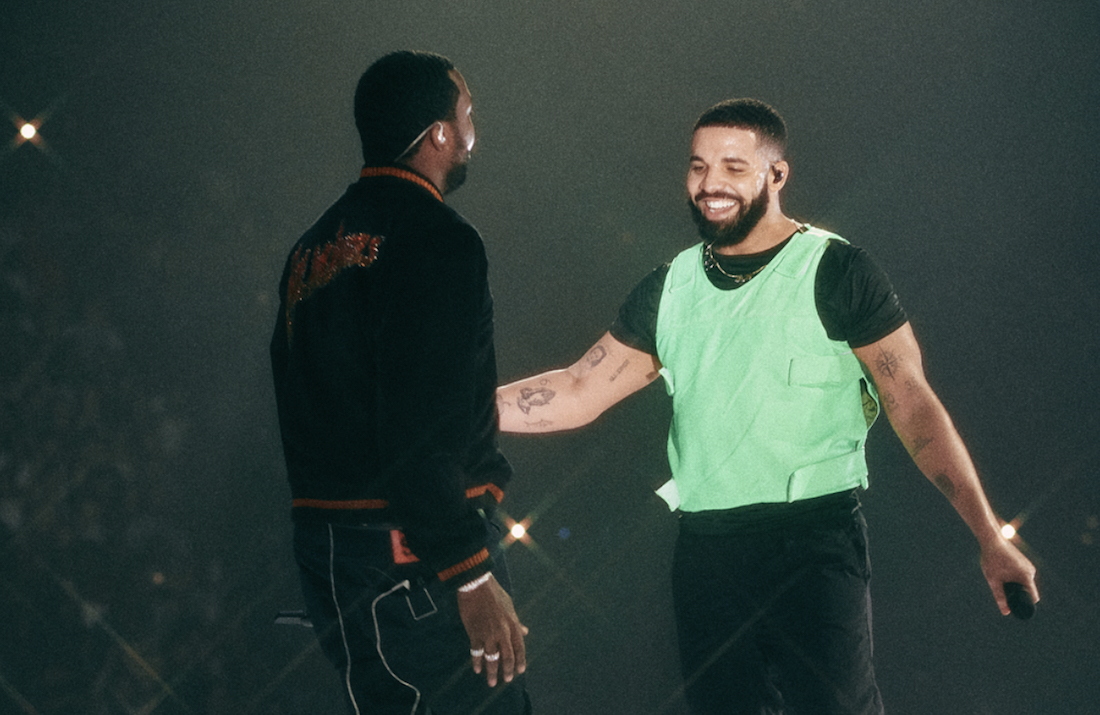 Drake and Meek Mill Squash Beef at Boston Concert
