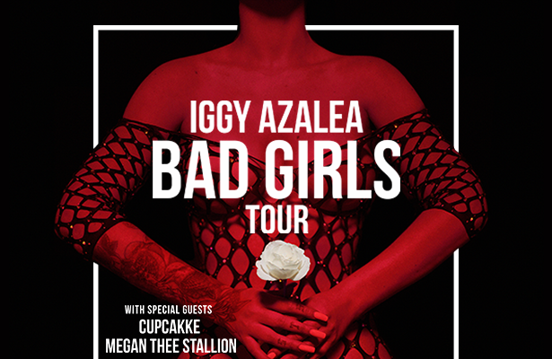 Iggy Azalea to Tour with CupcakKe and Megan Thee Stallion