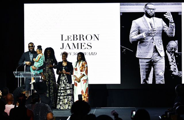 LeBron James Receives Icon 360 Award, Surprises School with New Gear