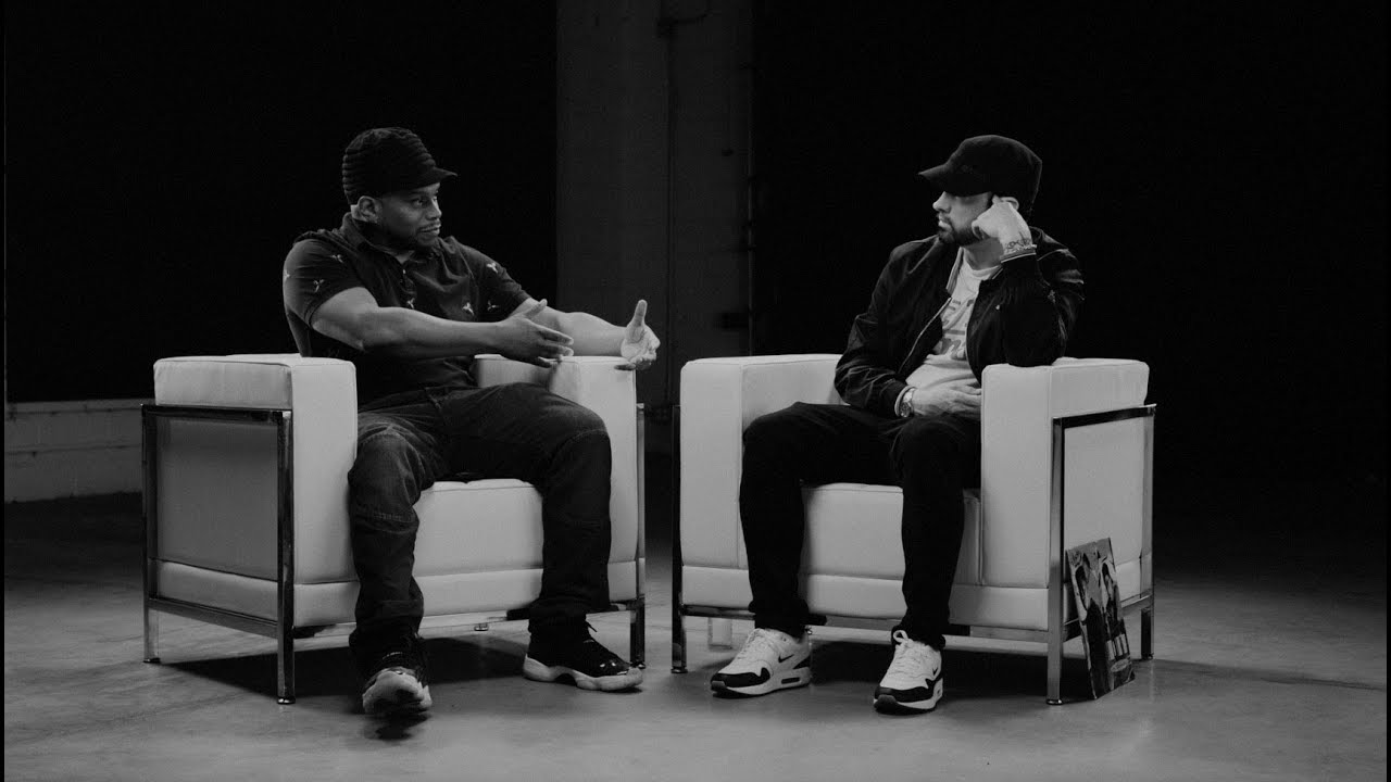 Watch Eminem & Sway's