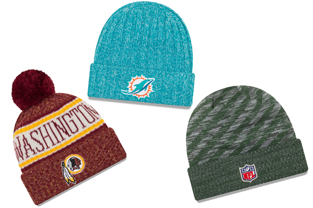 nfl  cold weather knit collection