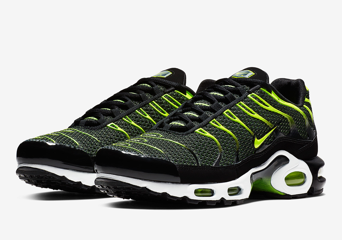uk availability 91af1 f9287 ... for now shop the new nike air max plus black volt at the swooshs uk  online