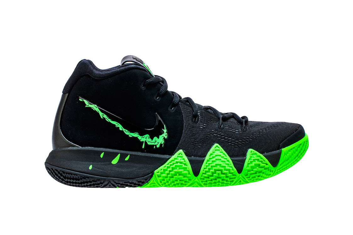 new arrival 86a98 130ce Nike Prepares For Halloween With a Ghoulish Kyrie 4