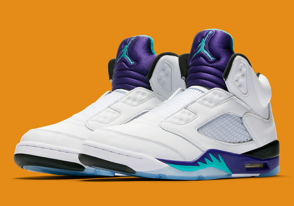 "1f0dcd199a8a Nike Gives an Official Look at Will Smith s Air Jordan 5 NRG ""Fresh Prince"""