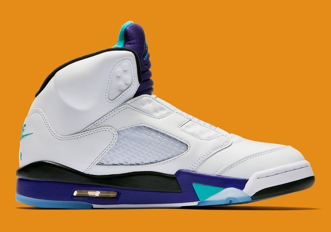 "61e0f7a85514 The extremely limited Air Jordan 5 NRG ""Fresh Prince"" drops on Big Willie s  b day (September 25)"