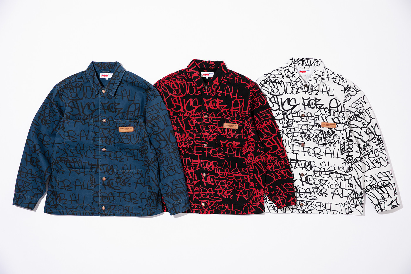 hot sale online 59c80 85ec4 Supreme Debuts Its COMME des GARÇONS SHIRT FW18 Collaboration