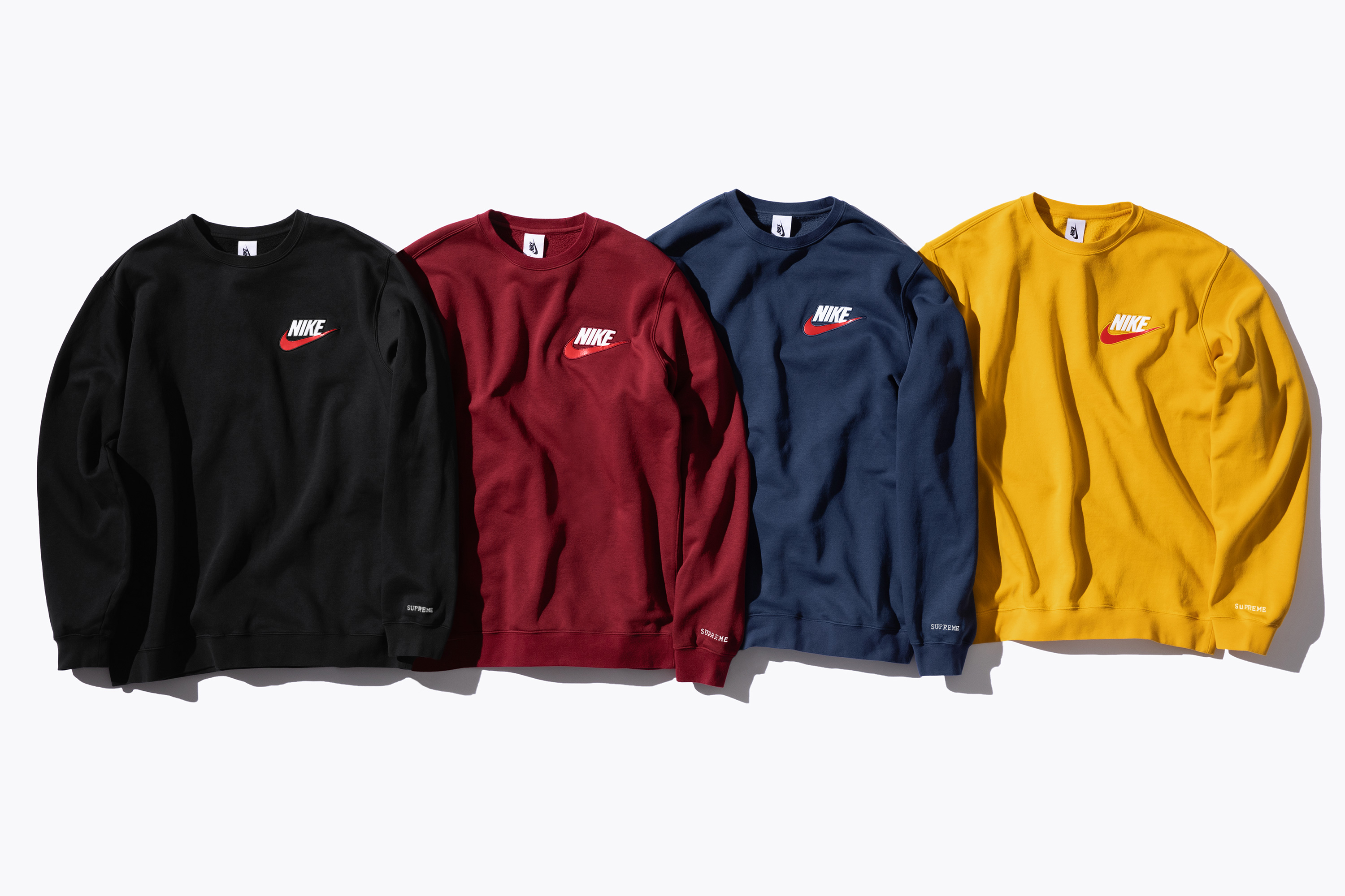 1b93c30e The Supreme x Nike FW'18 collection arrives online and at the NY, LA,  London, and Paris locations beginning this Thursday (September 27), ...
