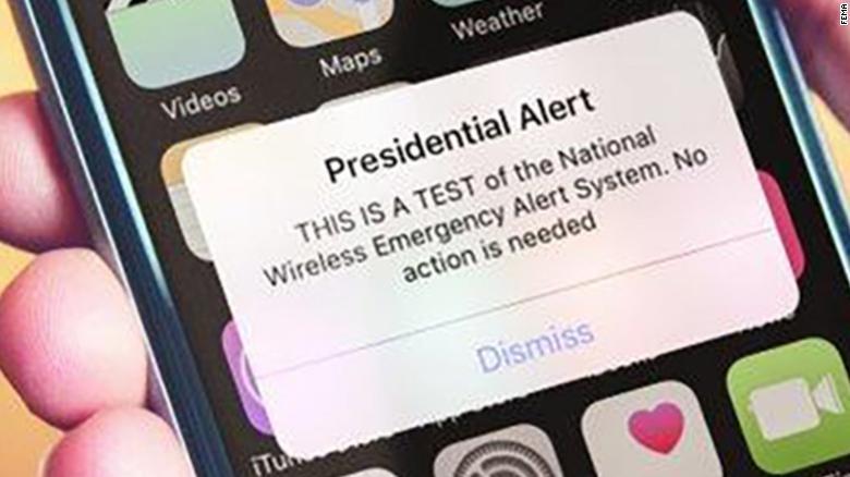 presidential alert exlarge