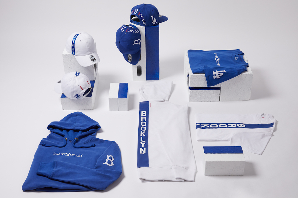 coastcoast dodgers heritage collection