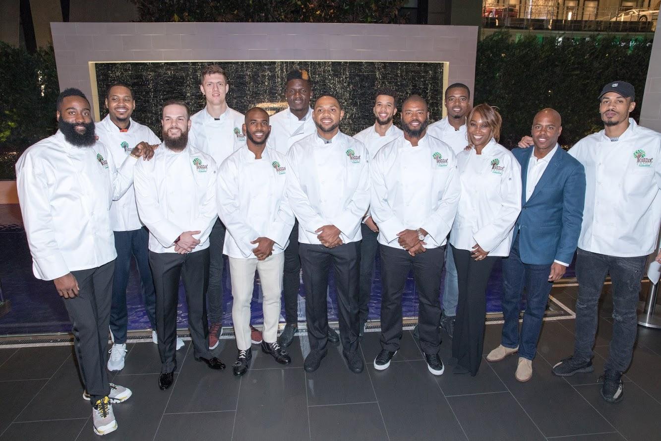 The Chris Paul Family Foundation Hosts Celebrity Server Dinner To