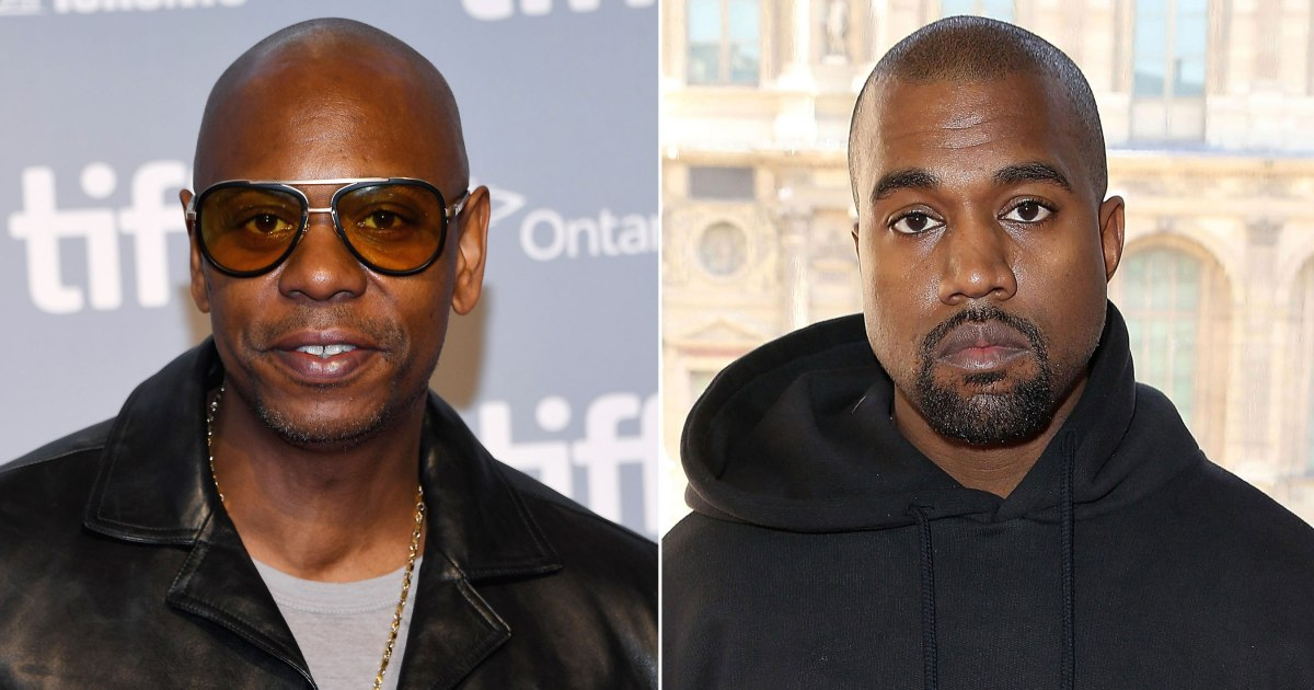 Kanye West Thanked His 'True Friend' Dave Chapelle For Visiting Him in Wyoming Following Twitter Meltdown