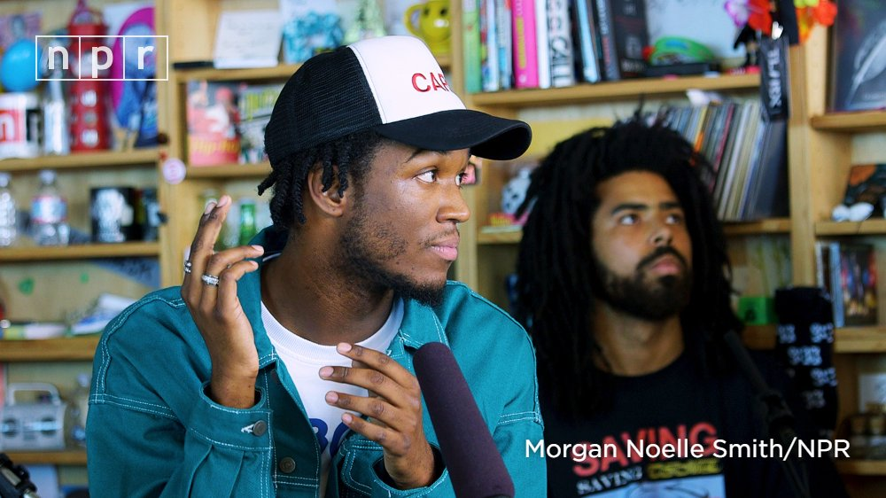 Saba Brings His 'Care For Me' to NPR Tiny Desk Concert