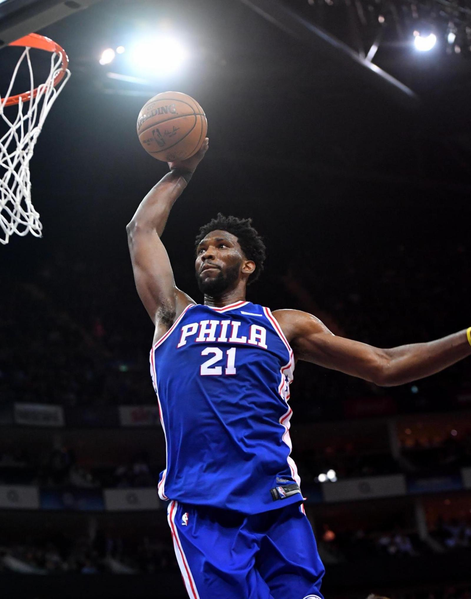Joel Embiid Says His Under Armour Deal is 'Bigger Than Basketball'