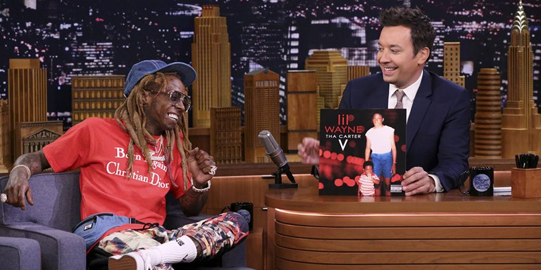 Lil Wayne Performs 'Dedicate' on 'Fallon'