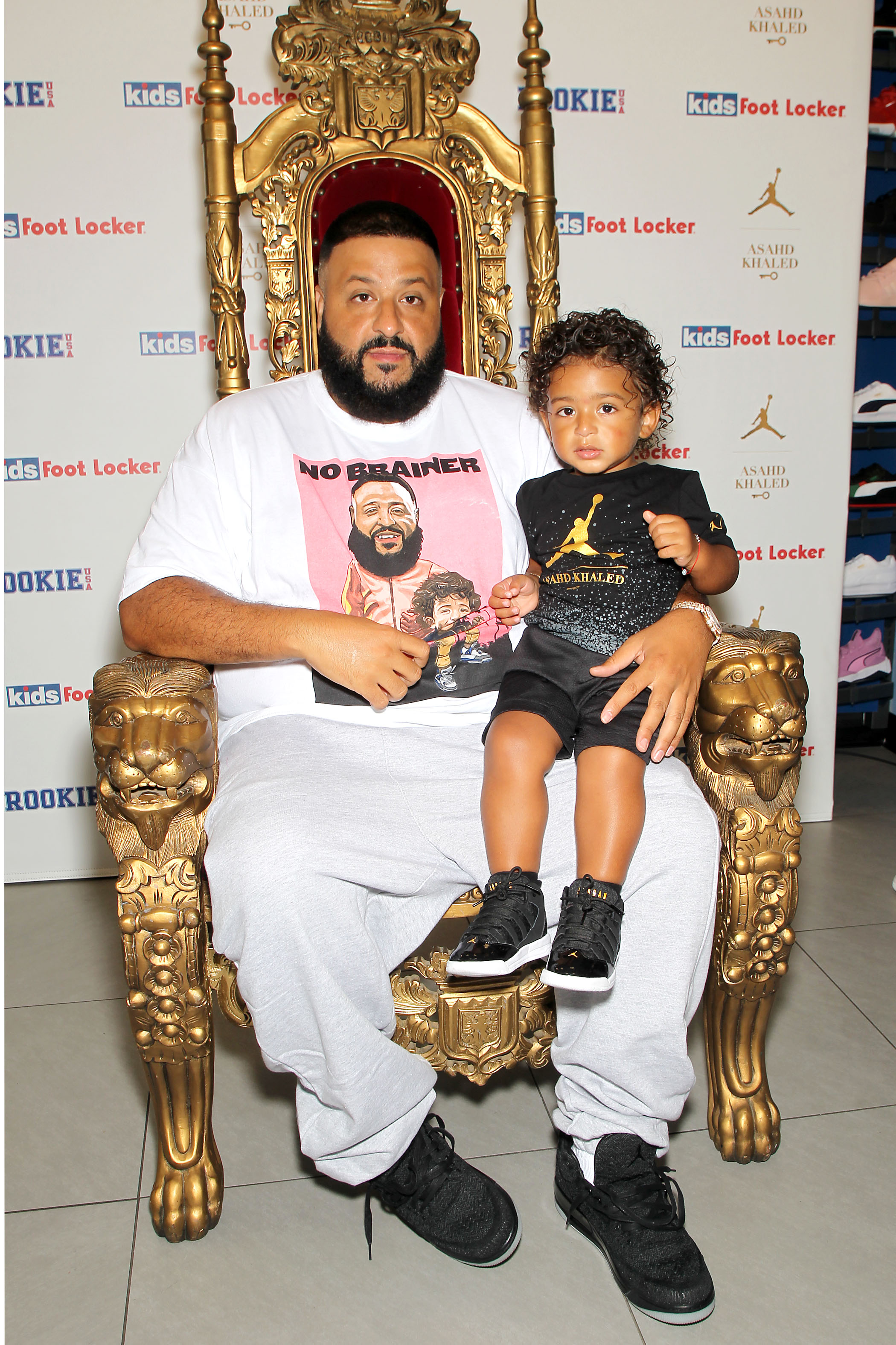 2259b7575f0fda Exclusive  DJ Khaled on the Importance of Parenting Children Toward Success  and Asahd s New Jordan Collection
