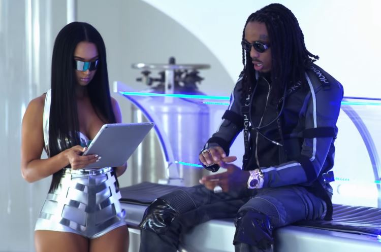 Quavo Releases 'Bubble Gum' Video Starring Draya Michele
