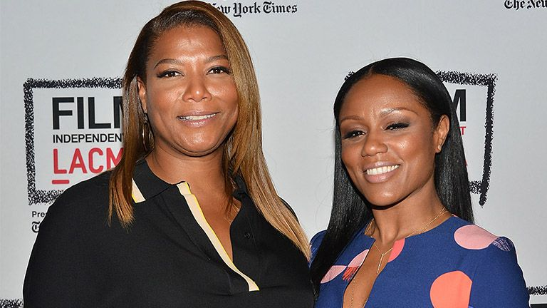 Twitter Reacts To Queen Latifah's Public Declaration For Her Partner and Son During BET Awards