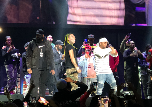 Tekashi 6ix9ine Makes Surprise Appearance at 2018 Powerhouse
