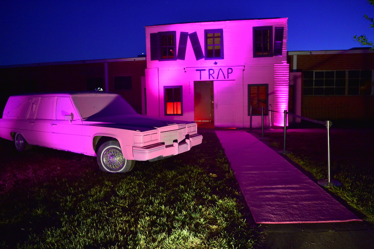 The Haunted Pink Trap House ATLPics