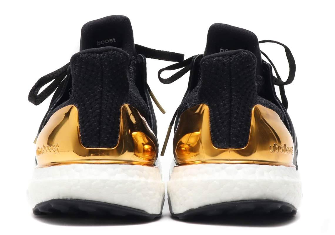 "e0d58e2cd The adidas Ultra Boost ""Gold Medal"" hits atmos starting tomorrow (October  19)"