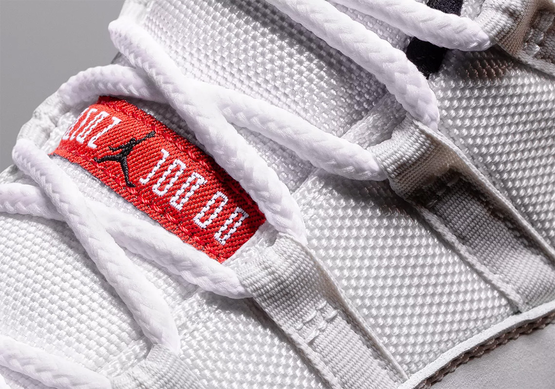 """a214d5b48ed8 The Air Jordan 11 """"Platinum Tint"""" arrives this Saturday (October 27) in  adult sizes for  220 USD and grade school sizes as well for  180 USD at  select JB ..."""