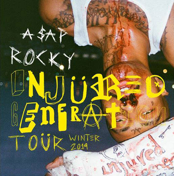 ASAP Rocky Announces 'Injured Generation' Tour