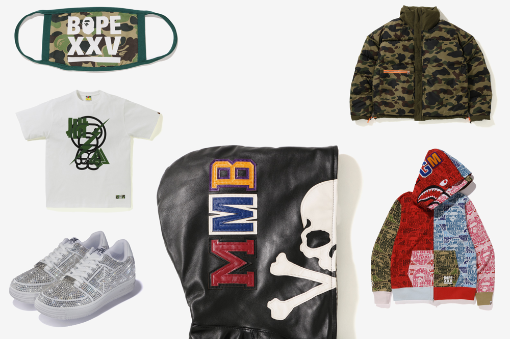 4d05c01bf Take a Look at the Entire 25th Anniversary 'BAPE XXV' Collection ...