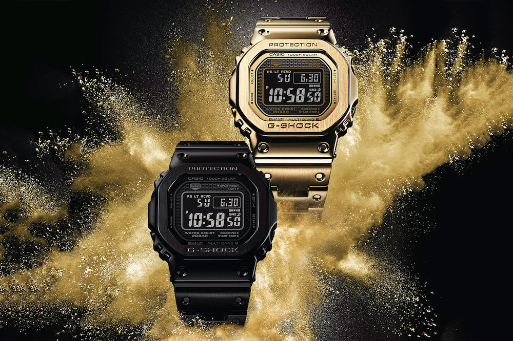 casio g shock full metal  collection