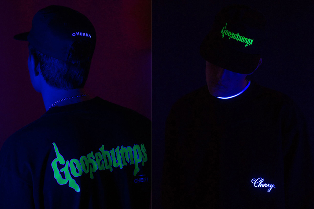 cherry los angeles goosebumps capsule collection