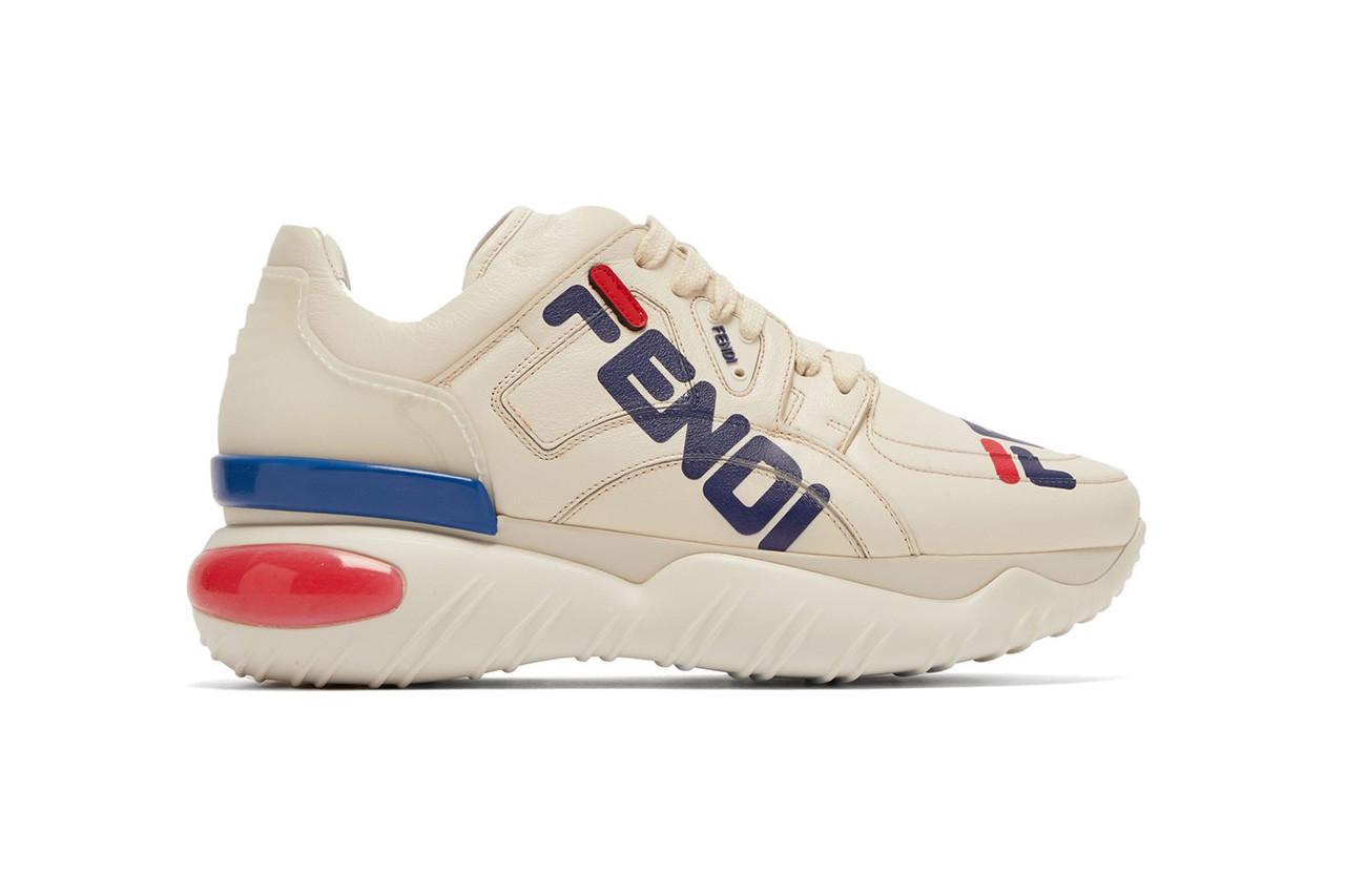fila fendi mania chunky sneaker