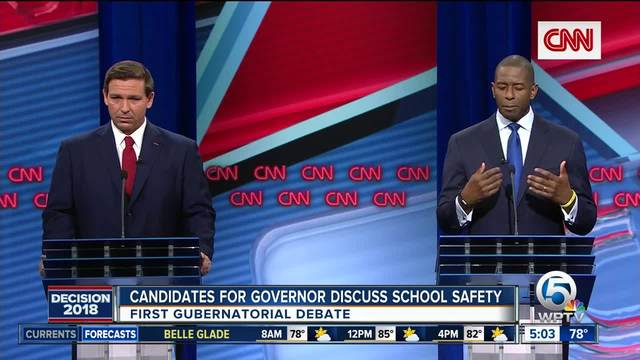 [Watch] Andrew Gillum Flawlessly Demolishes DeSantis During Debate