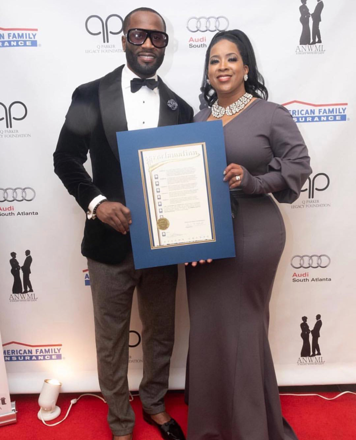 Q Parker of 112, Hosts 'A Night With My Lady' Through Legacy Foundation