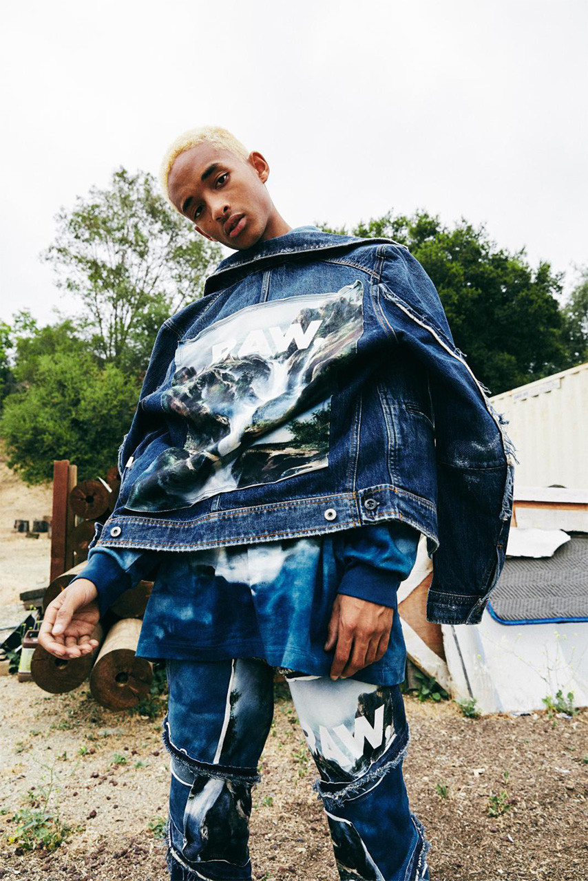 jaden smith g star raw forces of nature