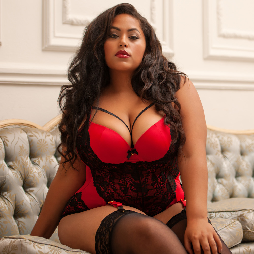 lovehoney plus size lingerie rendezvous belle amour