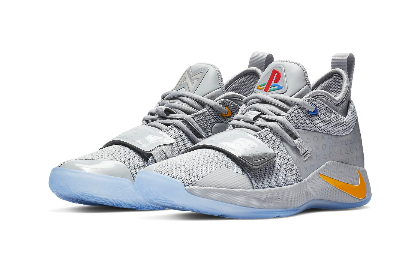 paul george nike PG   sony playstation grey